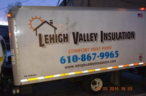 Lehigh Valley Insulation truck