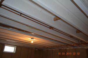 ceiling without insulation
