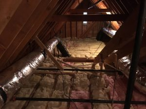 insulated attic floor
