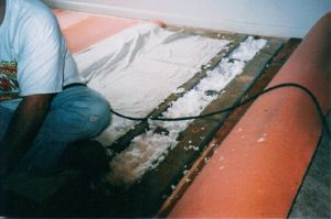 insulation in floor