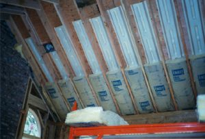 insulation in ceiling