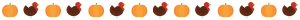 thanksgiving themed page separator